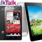 TalkTalk Mobile introduces trio of Huawei devices