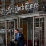 Advertising numbers best in three years: New York Times