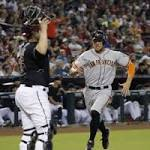 Giants beat Diamondbacks, snap losing streak at six games