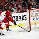Capitals build early lead, hold on to defeat Red Wings in return to home ice