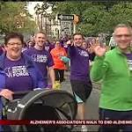 1000+ participate in Walk to End Alzheimer's
