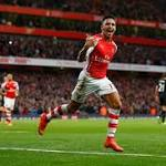 Arsenal 3-0 Burnley: Alexis Sanchez double fires Gunners to three points