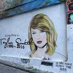 Artist threatened with legal action over Taylor Swift death mural