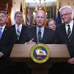 California governor in Paris to push pact to curb emissions