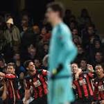 Chelsea 0-1 Bournemouth: Jose Mourinho's men are beaten at Stamford Bridge ...