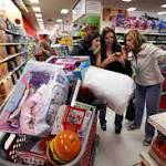 Online sales strong, stores suffer on Black Friday