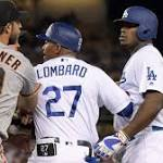 Dodgers fail to capitalize early in 2-0 loss to Giants