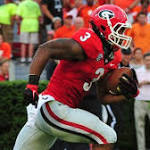 Todd Gurley gains Georgia-record 293 all-purpose yards in 45-21 rout