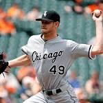 Orioles gain split with White Sox