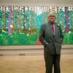 Like every great artist, David Hockney needs his circle
