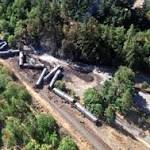 Oregon residents return home following oil train derailment