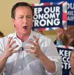 Boost for David Cameron as 5000 small firms back Conservatives