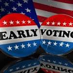 Be sure to get out and vote early