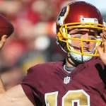 Kirk Cousins, replaced by Colt McCoy, says Redskins can't win with his turnovers