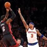 Miami Heat rights ship against New York Knicks