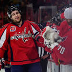 Slumping Caps to keep Wilson with Ovechkin, Backstrom