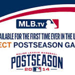 MLB.TV to stream live World Series games
