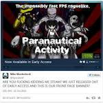 Paranautical Activity Removed from Steam Store Shortly After Launch