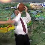 Cleveland weatherman loses it on air over referees from Game 2 of NBA Finals