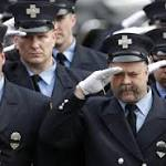 Boston Mourns Firefighters Edward Walsh and Michael Kennedy