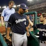 Brewers blank Nats