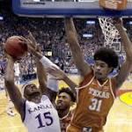 Former KU basketball recruiting target Jarrett Allen erupts versus Jayhawks