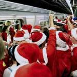 Naughty or nice, SantaCon revelers descend on New York