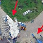 New Aerial Photos Show The Millennium Falcon And X-Wing From 'Star Wars ...