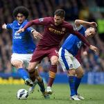 Man City loses at Everton as title bid slips away