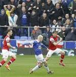 Everton v Arsenal: live