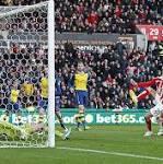 Stoke City vs Arsenal, Premier League: as it happened