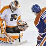 Oilers' Nugent-Hopkins nets OT winner vs. Flyers