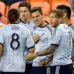 Sporting KC pulls out 4-4 draw with Houston Dynamo on late goal