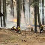 Evacuation Orders Lifted at Yosemite Fire