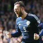Scotland 6-1 Gibraltar: Casciaro's historic moment outshone by Fletcher's hat trick