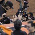 Giants win pennant on Ishikawa's home run