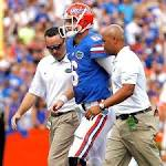 Florida turns away Tennessee after losing quarterback Jeff Driskel