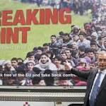 Nigel Farage attacked for Ukip poster showing queue of refugees