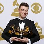 Sam Smith, Beck get Grammys galore