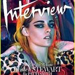 With a wink to 'Twilight', Kristen Stewart speeds forward
