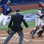 Padres bury Giants with 20 hits