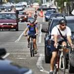 Bikers, walkers make for healthier cities, report finds