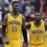 Just say no: George stays on the floor, scores 39 as Pacers top Wizards 95-92 to ...