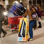 Shoppers swarm in Model City, but keep it nonviolent