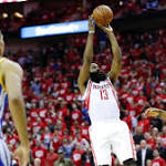 James Harden keeps the Houston Rockets going