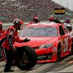 CUP: Engine Quiet, Kenseth Surges
