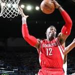 James Harden reaches next level to help Rockets soar without Howard and ...