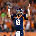 Peyton Manning breaks Brett Favre's touchdown pass record in Broncos' 42-17 ...