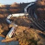Black box data recorder recovered after Metro-North train derails in New York