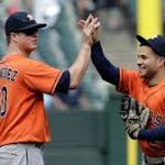 Astros outslug White Sox in salvage series finale